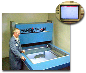FabriVISION 1.25m x 1.25m scanner
